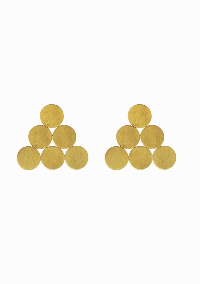 ILU1237 Op'Art earrings