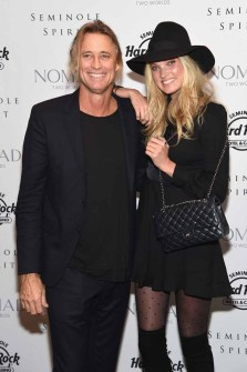Russell James and Elsa Hosk