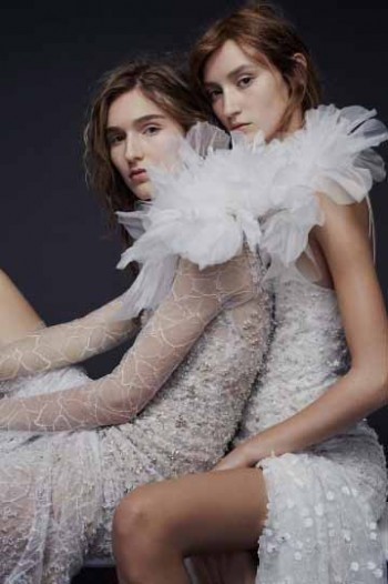 Vera Wang Bridal Fall 2015 Looks 1 and 2