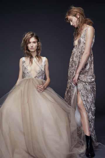 Vera Wang Bridal Fall 2015 Looks 13 and 14
