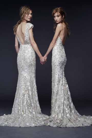 Vera Wang Bridal Fall 2015 Looks 15 and 16