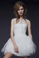 Vera Wang Bridal Fall 2015 Look 04