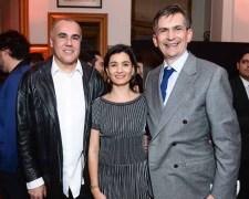 Ambassador Agustin Garcia-Lopez, Katya Garcia-Lopez, Ricardo Seco