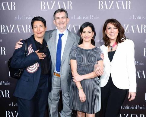 Katya Garcia-Lopez, Ambassador Agustin Garcia-Lopez, Jimena Alarcon