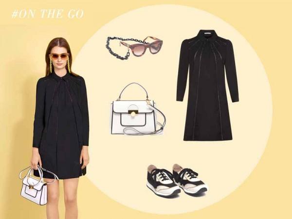 Paule Ka little black dress S15 (1)
