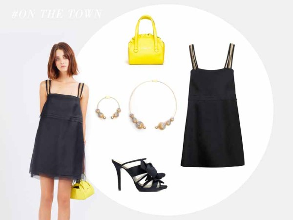 Paule Ka little black dress S15 (3)