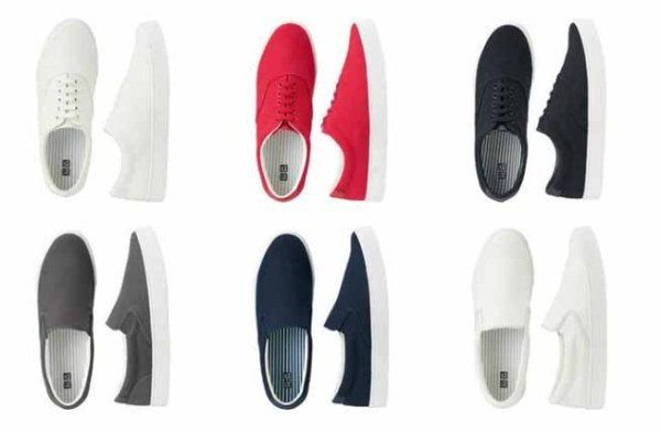uniqlo mens sneakers