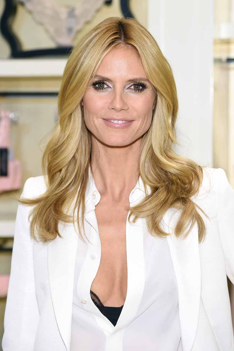 Heidi Klum Greets Her Fans For The Launch Of Her First Lingerie Collection, Heidi Klum Intimates