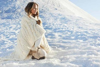 Chrissy Teigen in UGG Australia's Winter Campaign