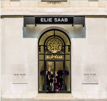 elie saab store window