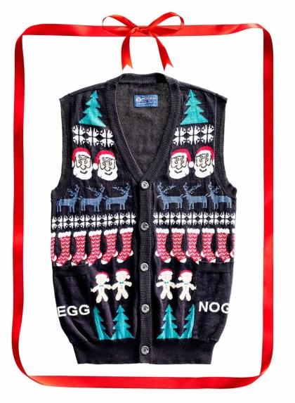 American Rag Egg Nog sweater vest. $50