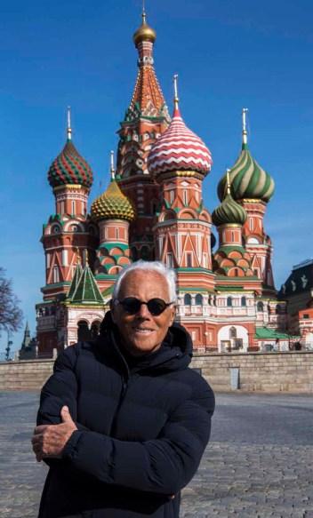 Giorgio Armani in Moscow