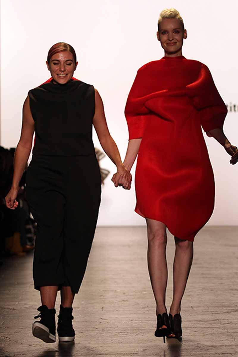 The Art Institutes At Nyfw Devon Pezzano The Art