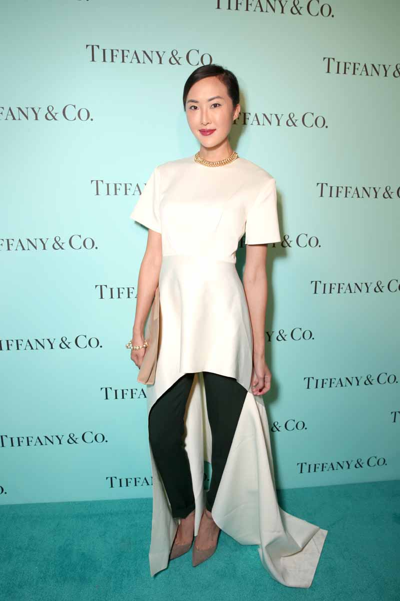 BEVERLY HILLS, CA - OCTOBER 13: Chriselle Lim attends Tiffany & Co.'s unveiling of the newly renovated Beverly Hills store and debut of 2016 Tiffany masterpieces at Tiffany & Co. on October 13, 2016 in Beverly Hills, California. (Photo by Todd Williamson/Getty Images for Tiffany & Co.)
