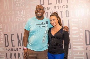 Demi Lovato at Fabletics (3)