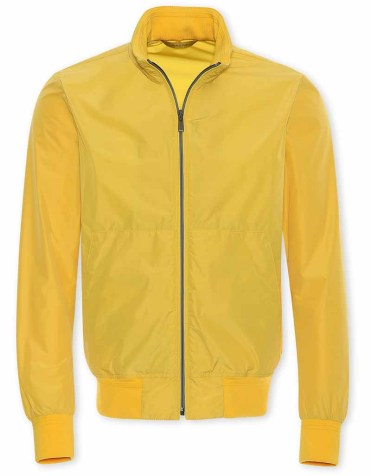 Canali Waterproof Rain Jacket