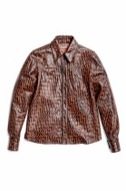 Missoni All-Over The Leather Shirt