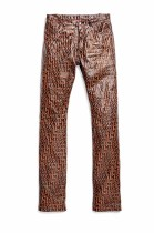 Missoni All Over The Leather Trousers