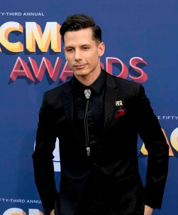 The 53rd Academy of Country Music Awards red carpet is held at the MGM Grand Garden Arena on the Las Vegas Strip. Here nominee for New Male Vocalist of the Year Devin Dawson walks the ACM red carpet. Sunday, April 15, 2018. CREDIT: Glenn Pinkerton/Las Vegas News Bureau
