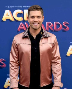 The 53rd Academy of Country Music Awards red carpet is held at the MGM Grand Garden Arena on the Las Vegas Strip. Here singer/songwriter Dustin Lynch walks the ACM red carpet. Sunday, April 15, 2018. CREDIT: Glenn Pinkerton/Las Vegas News Bureau