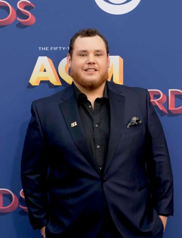 The 53rd Academy of Country Music Awards red carpet is held at the MGM Grand Garden Arena on the Las Vegas Strip. Here singer/songwriter and nominee for New Male Vocalist of the Year Luke Combs walks the ACM red carpet. Sunday, April 15, 2018. CREDIT: Glenn Pinkerton/Las Vegas News Bureau