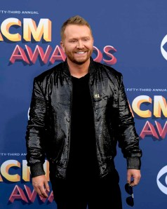 The 53rd Academy of Country Music Awards red carpet is held at the MGM Grand Garden Arena on the Las Vegas Strip. Here singer/songwriter and nominee for Songwriter of the Year, Album of the Year, Single Record of the Year and Song of the Year Shane McAnally walks the ACM red carpet. Sunday, April 15, 2018. CREDIT: Glenn Pinkerton/Las Vegas News Bureau