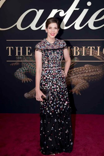 CANBERRA, AUSTRALIA - MARCH 27: Lucy Feagins of The Design Files attends the Cartier: The Exhibition Black Tie Dinner at the National Gallery of Australia on March 27, 2018 in Canberra, Australia. (Photo by Cole Bennetts/Getty Images)