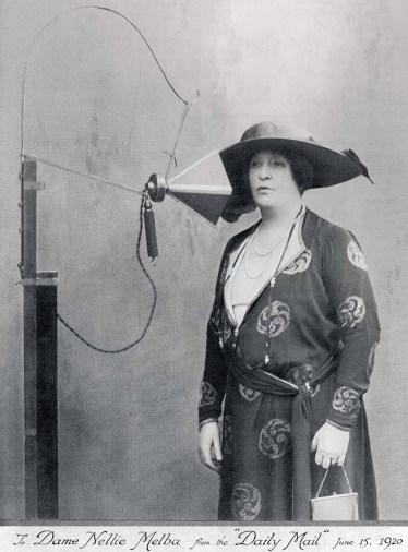 Dame Nellie Melba, 1920