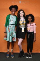 Founder, #1000BlackGirlBooks, Marley Dias, Activist Madison Kimrey, and Activist Naomi Wadler