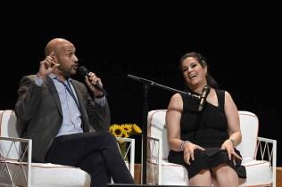 Comedians and Actors Keegan-Michael Key and Maysoon Zayid