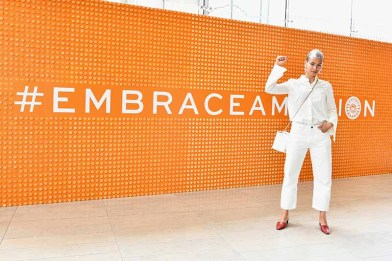 NEW YORK, NY - APRIL 24: Attendees pose during The Tory Burch Foundation 2018 Embrace Ambition Summit at Alice Tully Hall on April 24, 2018 in New York City. (Photo by Slaven Vlasic/Getty Images for Tory Burch Foundation)
