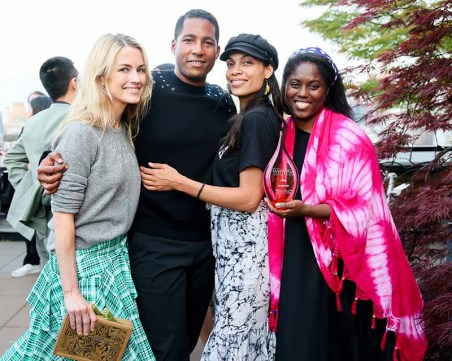 Amanda Hearst, Hassan Pierre, Rosario Dawson, Abrima Erwiah, STUDIO ONE EIGHTY NINE
