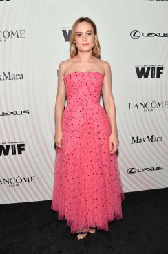 BEVERLY HILLS, CA - JUNE 13: Brie Larson attends the Women In Film 2018 Crystal + Lucy Awards presented by Max Mara, Lancôme and Lexus at The Beverly Hilton Hotel on June 13, 2018 in Beverly Hills, California. (Photo by Emma McIntyre/Getty Images for Women In Film)