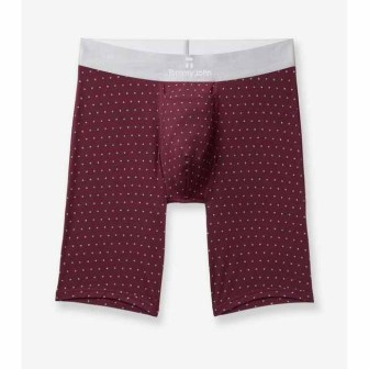 Tommy John Second Skin Crescent Dot Titanium Boxer Brief