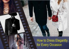 How to Dress Elegantly for Every Occasion