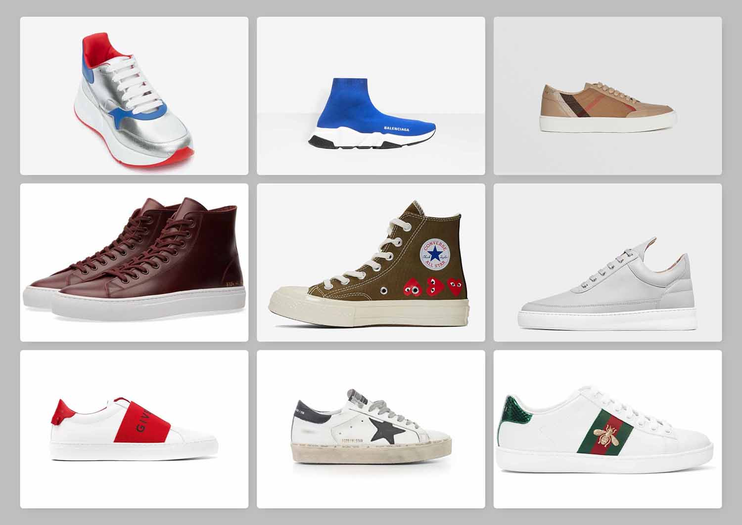 9 Designer Sneakers That are Totally Worth Their Money