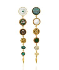 Grainne-Morton-18K-Gold-Plated-and-Multi-Stone-Earrings