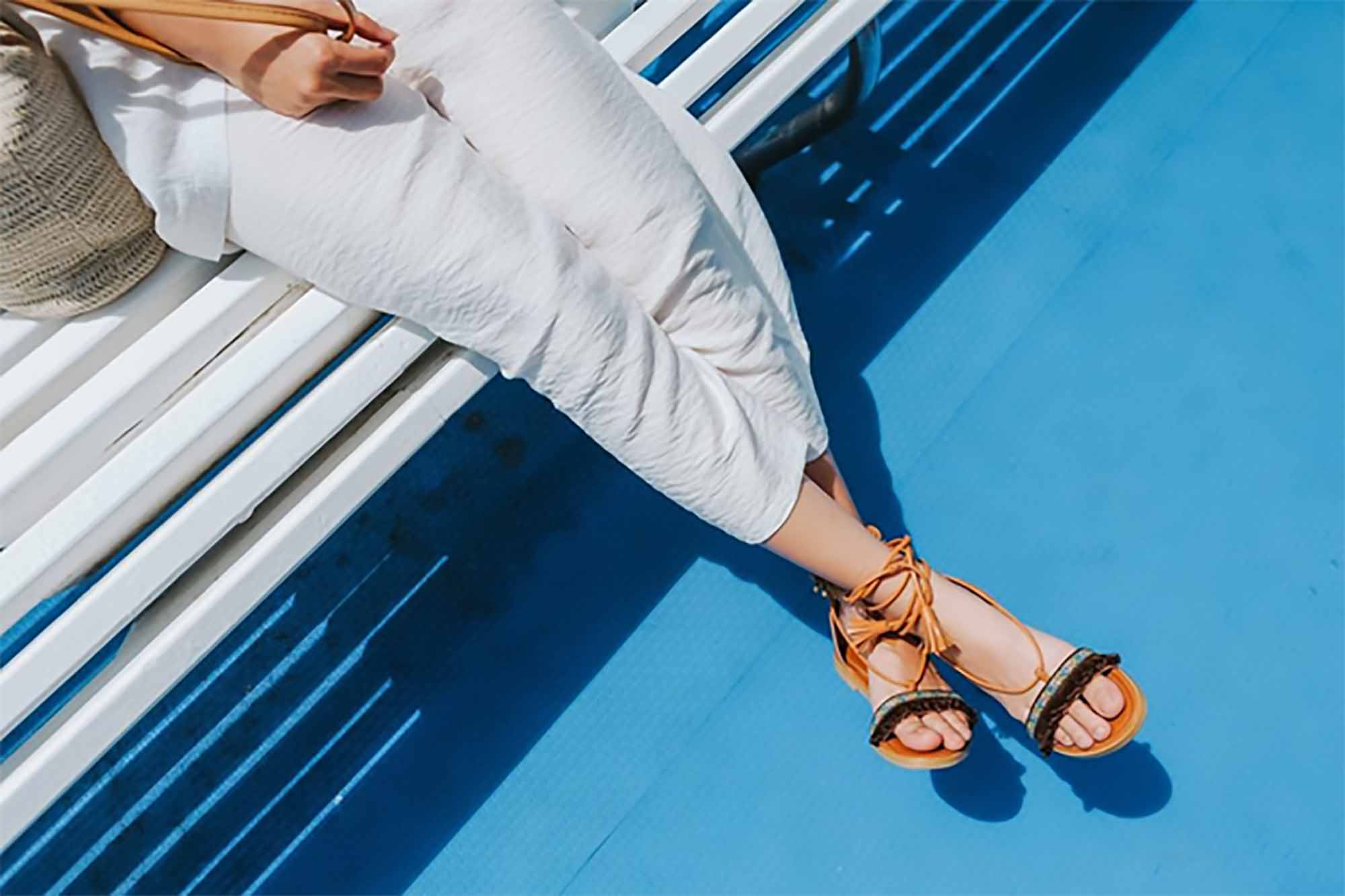 A Ladies' Guide To Wearing Sandals