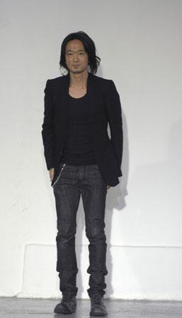 Kazuyuki Kumagai on the runway