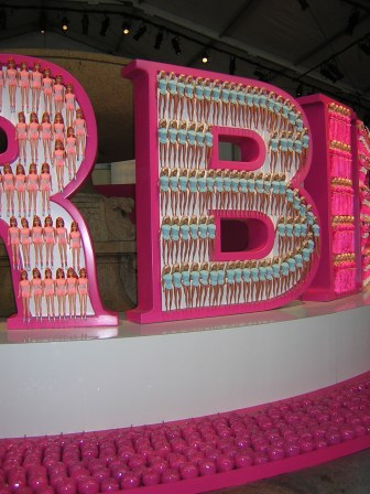 Barbie Installation at Bryant Park
