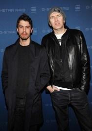 Actor Toby Kebbell (L) and photographer Anton Corbijn