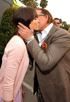 Jessica Alba and Mickey Rourke