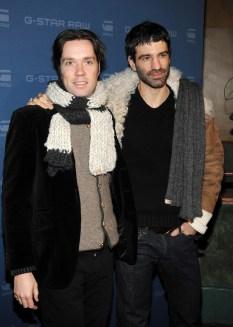 Wainwright (L) and boyfriend Jorn Weisbrodt