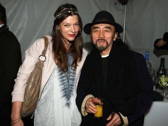 Milla Jovovich and Yohji Yamamoto