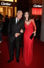 Monica Bellucci and Bernard Fornas