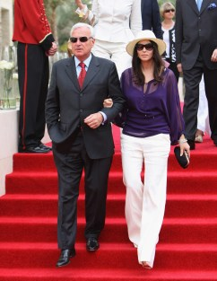 Bernard Fornas and Monica Belluci