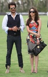 Karishma Kapoor and Anil Kapoor