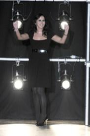 Designer Lorella Signorino on the runway