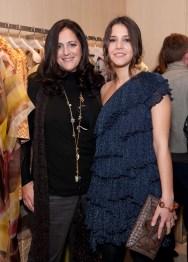 Angela Missoni and Margarita Missoni
