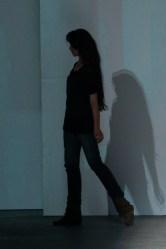 Stefania Borras on the runway